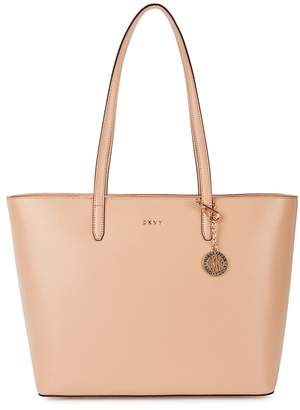 DKNY Bryant Shell Leather Tote