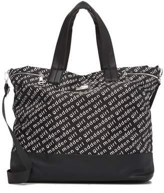 Madden-Girl Nylon Logo Weekend Bag