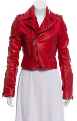 Balenciaga Distressed Leather Jacket