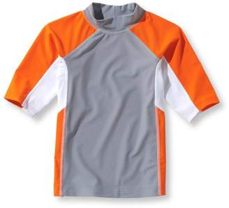L.L. Bean L.L.Bean Boys' Sun-and-Surf Shirt, Short-Sleeve Colorblock