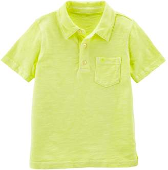 Carter's Boys 4-8 Solid Polo Top