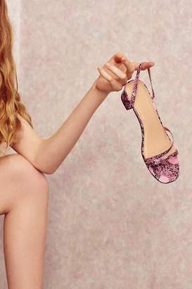 Urban Outfitters Claudia Faux Snakeskin Sandal