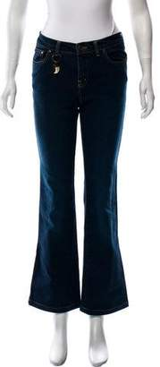 See by Chloe Flared Mid-Rise Jeans
