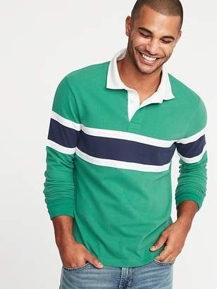 Old Navy Pieced Color-Block Rugby for Men