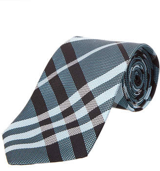 Burberry Clinton Textured Classic Check Tie
