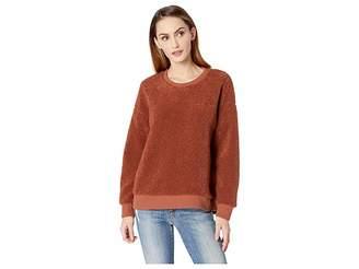 Kenneth Cole New York Shearling Sweatshirt