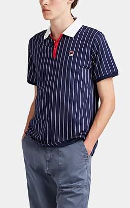a9a87961 Fila Men's Pinstriped Cotton Polo Shirt - Navy