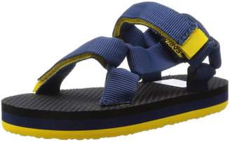 Teva Kid's Original Universal Sandals, Navy/Yellow