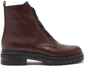 Gianvito Rossi - Trek Sole Ankle Boots - Womens - Burgundy