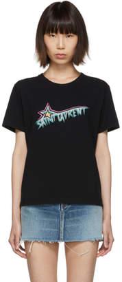 Saint Laurent (サン ローラン) - Saint Laurent ブラック Saint Laurent Star T シャツ