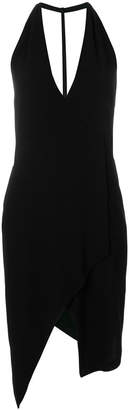 IRO deep V-neck dress
