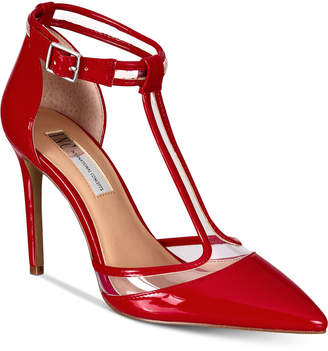 INC International Concepts I.n.c. Kaeley T-Strap Pumps