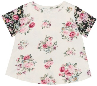 Zimmermann Kids Floral cotton T-shirt