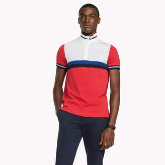 Tommy Hilfiger Athletic Zippered Slim Fit Polo
