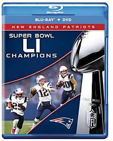 New England Patriots NFL Super Bowl 51 ChampsBlu-ray/DVD Set