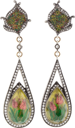 Sevan Biçakci Carved Tulip Mosaic Earrings