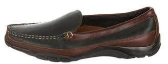 Allen Edmonds Leather Round-Toe Driving Loafers