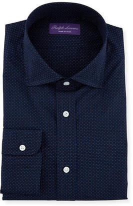 Ralph Lauren Men s Aston Plainweave Dot Dress Shirt a97186cfa0ad