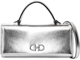 Salvatore Ferragamo Mini Metallic Leather Shoulder Bag