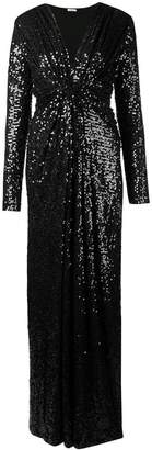 P.A.R.O.S.H. sequin embellished maxi dress