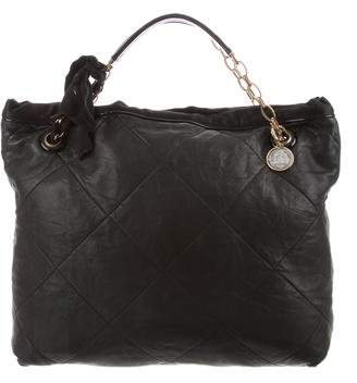 Lanvin Leather Amalia Cabas Tote
