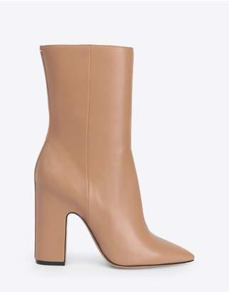 Maison Margiela High Leather Ankle Boots