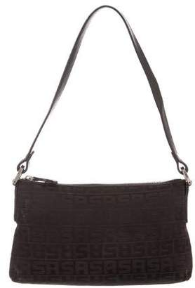 Sonia Rykiel Leather-Trimmed Canvas Bag
