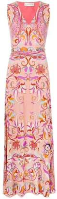 Etro all-over print dress