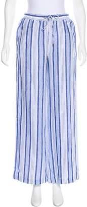 MICHAEL Michael Kors Printed Linen Pants