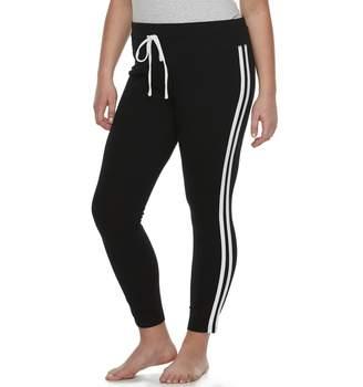 So Plus Size SO Side Stripe Yoga Leggings