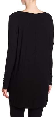 Michael Stars Hi-Lo Long Sleeve Shirt