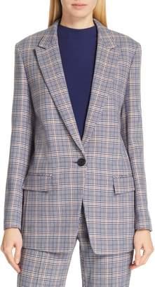 BOSS Kocani Houndstooth Check Suit Jacket