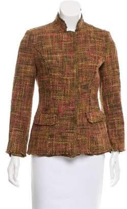 Philosophy di Alberta Ferretti Long Sleeve Tweed Jacket
