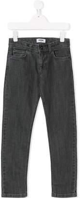 Moschino Kids logo pocket jeans