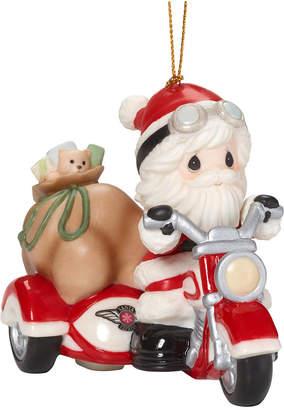Precious Moments Here Comes Santa Claus Ornament