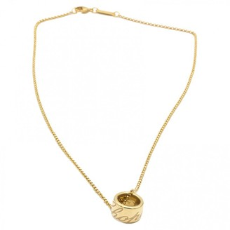 Chopard Chopardissimo yellow gold necklace
