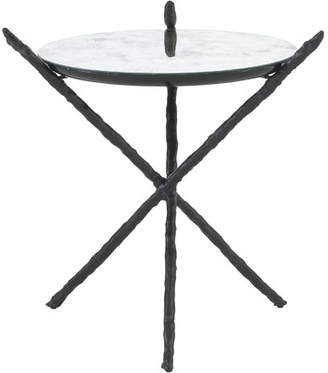 Bernhardt Marcello Mirrored Side Table