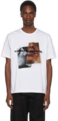 Juun.J White Be Curious Not Judgemental T-Shirt
