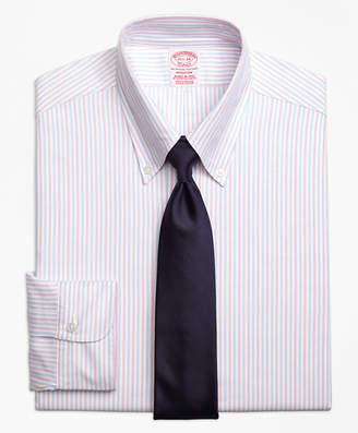 Brooks Brothers Original Polo Button-Down Oxford Madison Classic-Fit Dress Shirt, Alternating Bengal Stripe