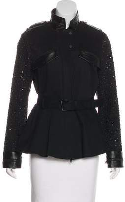 Robert Rodriguez Embellished Zip-Up Jacket