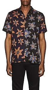 Paul Smith Men's Floral Casual Shirt - Dk. Blue