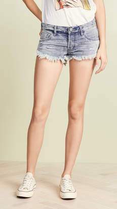One Teaspoon Rocky No. 2s Low Waist Mini Shorts