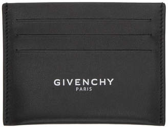 Givenchy Black Logo Card Holder