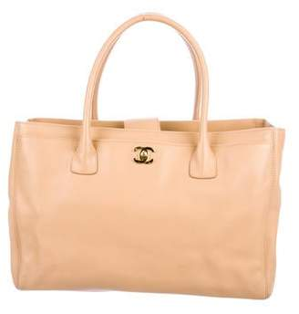 Chanel Leather Cerf Tote w/ Strap