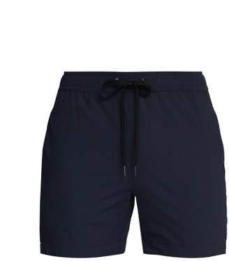 Onia Charles Technical Seersucker Swim Shorts - Mens - Navy