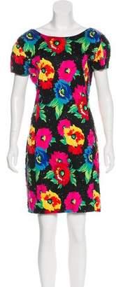 Adrienne Vittadini Mini Print Dress