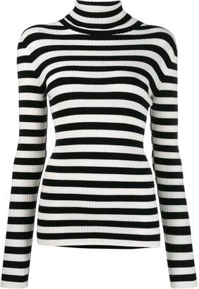 Twin-Set striped knit jumper