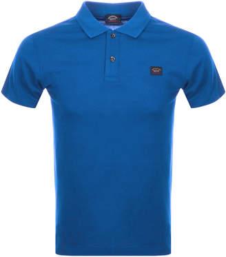 Paul & Shark Paul And Shark Short Sleeved Polo T Shirt Blue
