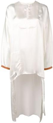 Loewe high low blouse