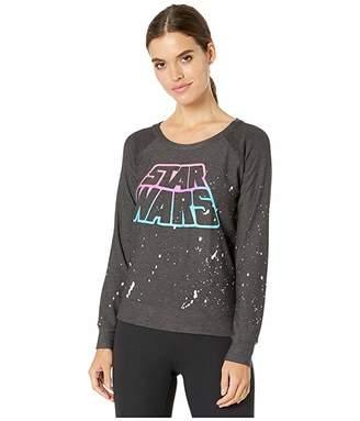 Chaser Neon Star Wars Cozy Knit Long Sleeve Raglan